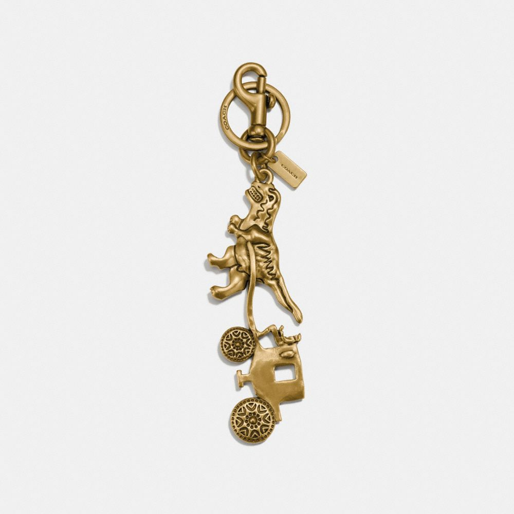 Coach Rexy and Carriage Bag Charm