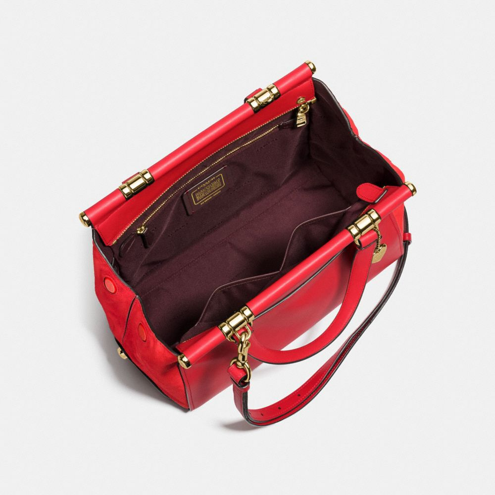 SELENA GRACE BAG IN MIXED LEATHERS - Alternate View