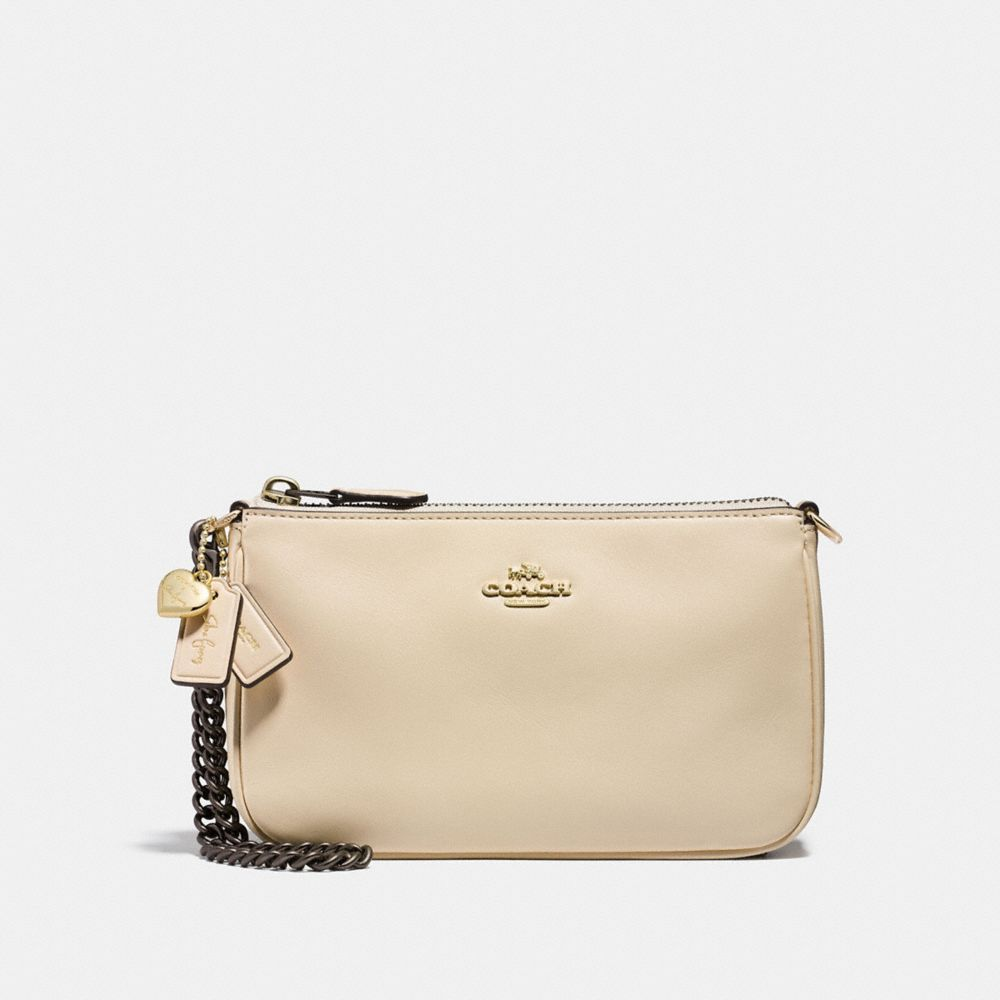SELENA WRISTLET 19 IN REFINED CALF LEATHER - Alternate View