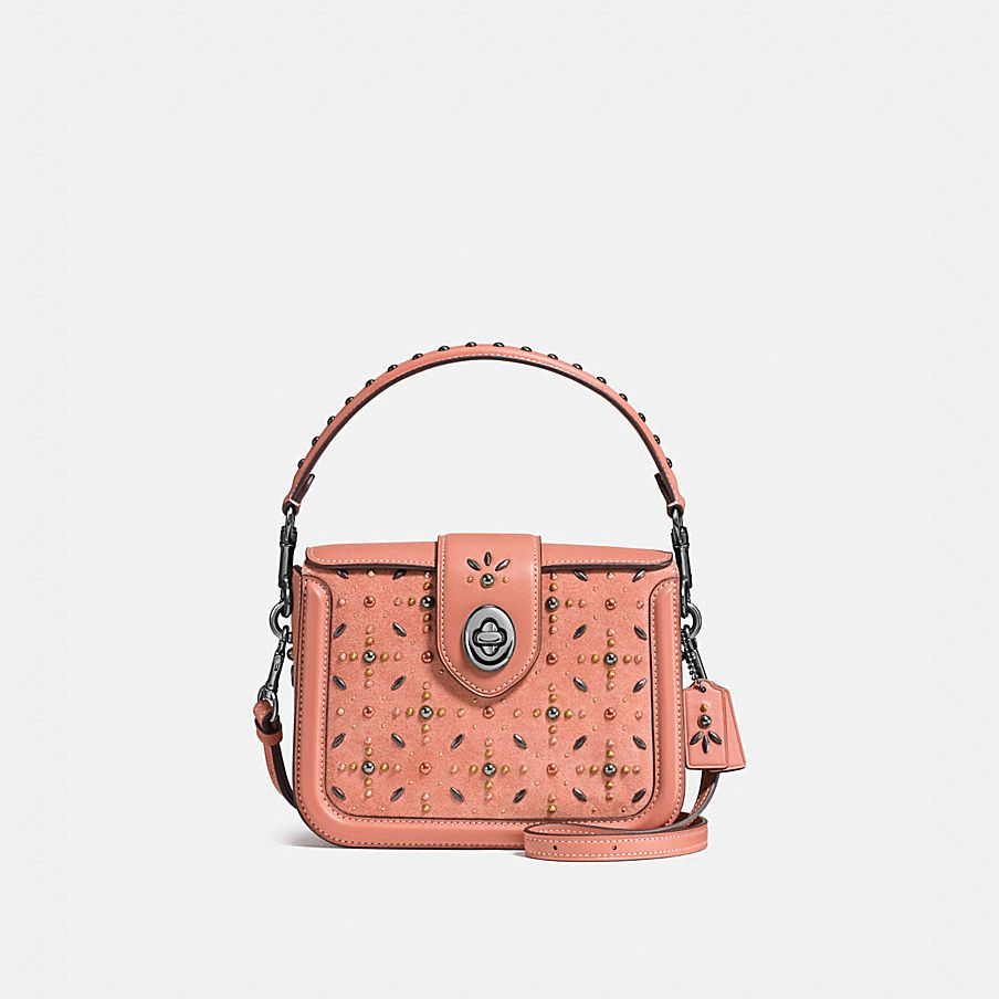 PAGE CROSSBODY WITH PRAIRIE RIVETS
