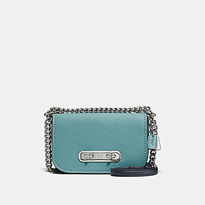 COACH SWAGGER SHOULDER BAG 20 IN COLORBLOCK