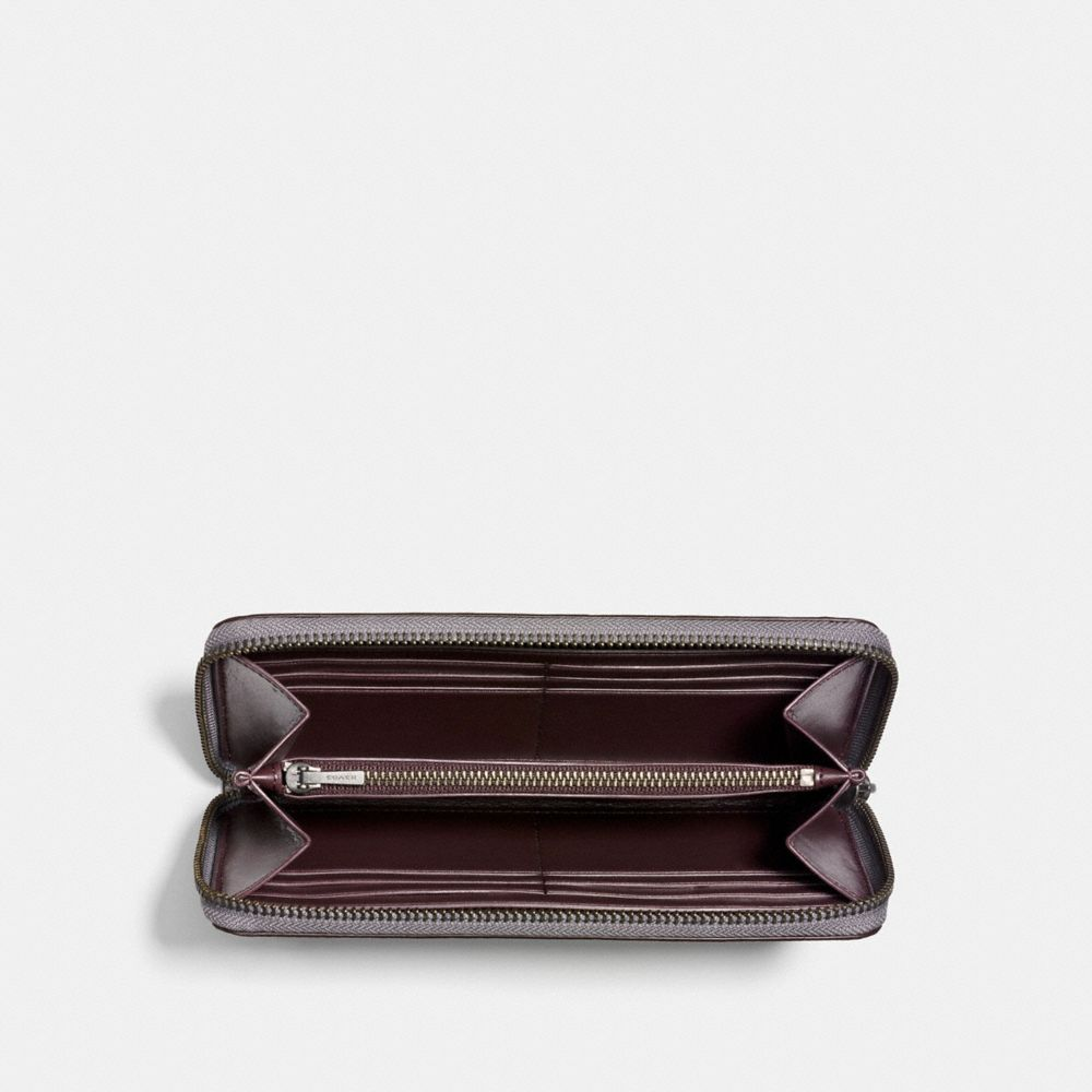 Coach Accordion Zip Wallet With Prairie Rivets Alternate View 1