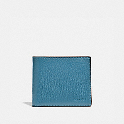 3-IN-1 WALLET - CHAMBRAY - COACH 24425