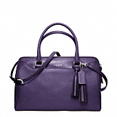 Legacy Leather Haley Satchel With Strap