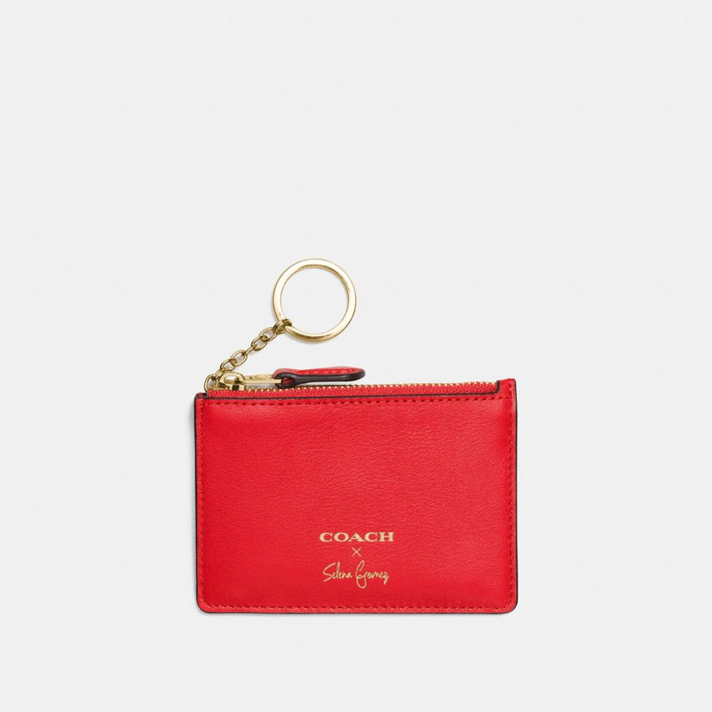 Coach Selena Mini Skinny Id Case