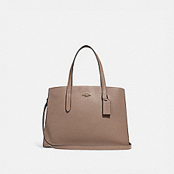 CHARLIE CARRYALL - STONE/GOLD - COACH 25137