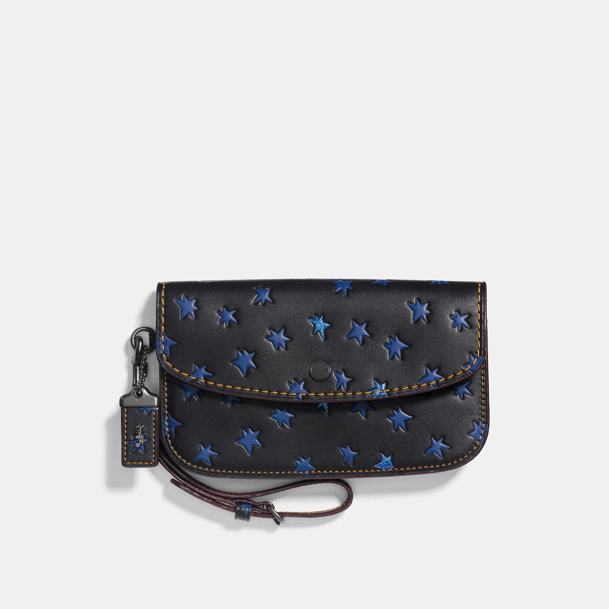 Coach Clutch With Star Print