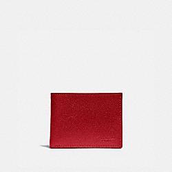 SLIM BILLFOLD WALLET - DARK CARDINAL - COACH 25606