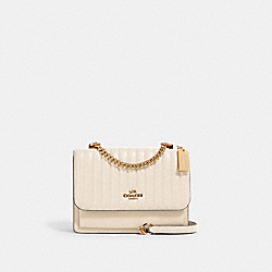 KLARE CROSSBODY WITH LINEAR QUILTING - IM/CHALK - COACH 2561