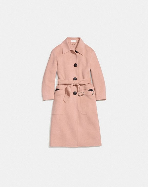 Coach Luxury Wool Trench