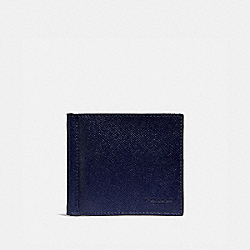 MONEY CLIP BILLFOLD - CADET - COACH 26016