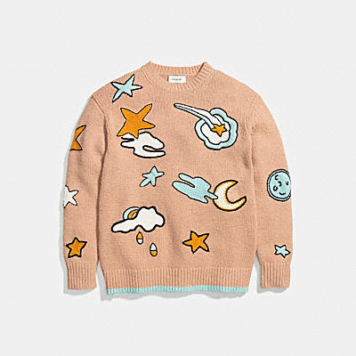 OUTERSPACE INTARSIA SWEATER