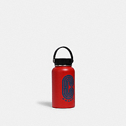 WATER BOTTLE IN COLORBLOCK WITH COACH PRINT - QB/MIAMI RED BLUE JAY - COACH 2682