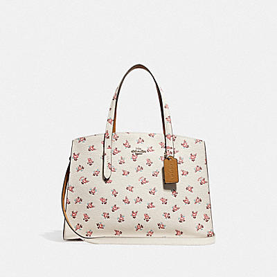 CHARLIE CARRYALL花卉印花手袋