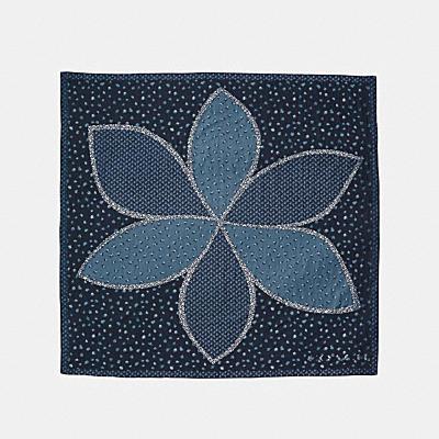 雛菊拼接超大方圍巾