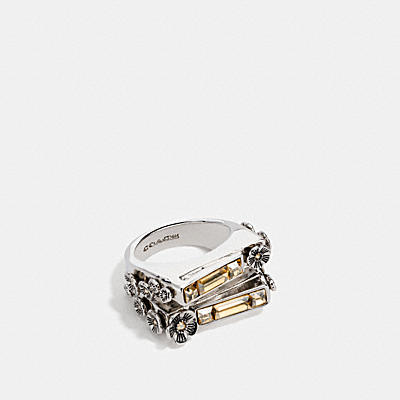 雙層寶石戒指
