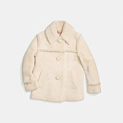 쉬어링 코트