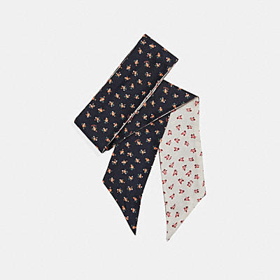 フローラル ブーム スキニー スカーフ
