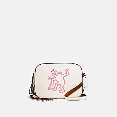 COACH X KEITH HARING CAMERA BAG