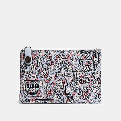COACH X KEITH HARING 26 轉扣手袋
