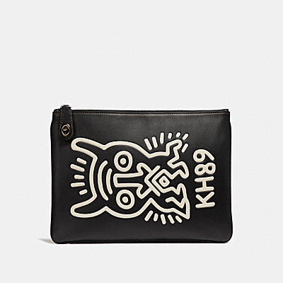 COACH X KEITH HARING 轉扣手袋
