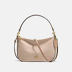 CHELSEA CROSSBODY - BEECHWOOD/LIGHT GOLD - COACH 28892