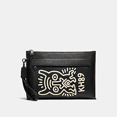 COACH X KEITH HARING ポーチ