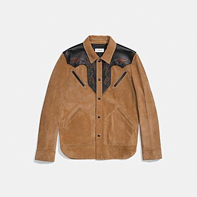 麂皮西部風格夾克