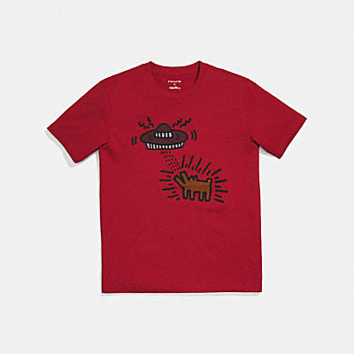 COACH X KEITH HARING T-SHIRT