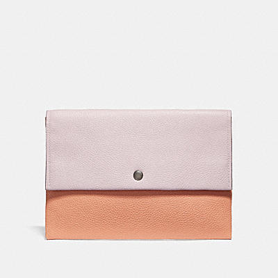 ENVELOPE POUCH IN COLORBLOCK