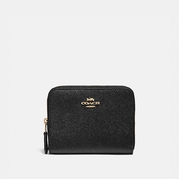 zipped logo wallet - Black Coach WbseqVaZ