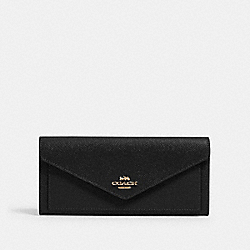 ENVELOPE WALLET - IM/BLACK - COACH 3033