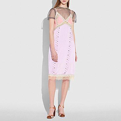 大草原鉚釘連衣裙