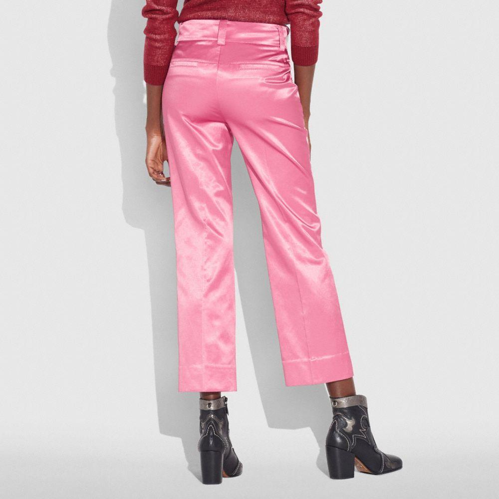 Coach Satin Tailored Trousers Coach hMrhMQmyf