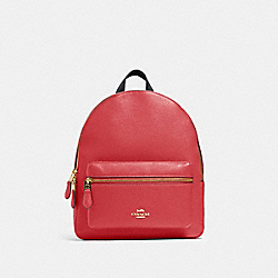 MEDIUM CHARLIE BACKPACK - IM/POPPY - COACH 30550