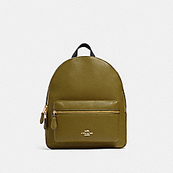 MEDIUM CHARLIE BACKPACK - IM/CITRON - COACH 30550