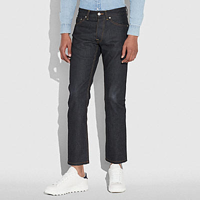 COACH X KEITH HARING 牛仔褲
