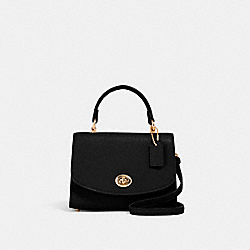 MICRO TILLY TOP HANDLE - IM/BLACK - COACH 3077