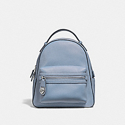 CAMPUS BACKPACK 23 - SILVER/MIST - COACH 31032