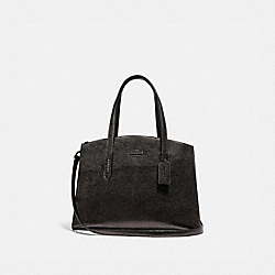 CHARLIE CARRYALL - METALLIC GRAPHITE/GUNMETAL - COACH 31037