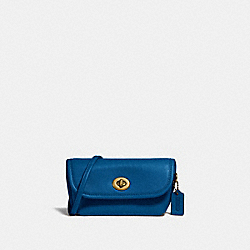 TURNLOCK FLARE BELT BAG - B4/BRIGHT MINERAL - COACH 315