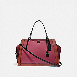 DREAMER 36 IN COLORBLOCK - PEWTER/DUSTY PINK MULTI - COACH 31646