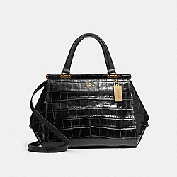 GRACE BAG - BLACK/LIGHT GOLD - COACH 31660