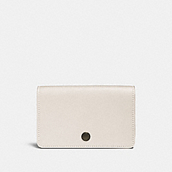 FOLDOVER CARD CASE - CHALK - COACH 31865