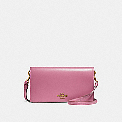 SLIM PHONE CROSSBODY - ROSE/BRASS - COACH 31867