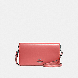 SLIM PHONE CROSSBODY - PINK - COACH 31867