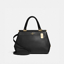 GRACE BAG - LIGHT GOLD/BLACK - COACH 31916