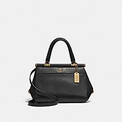 GRACE BAG 20 - BLACK/2/LIGHT GOLD - COACH 31918