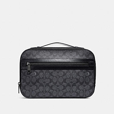 ACADEMY TRAVEL CASE IN SIGNATURE CANVAS