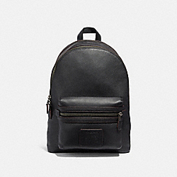 ACADEMY BACKPACK - BLACK/BLACK COPPER FINISH - COACH 32235